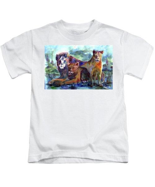 Lion's Play Kids T-Shirt