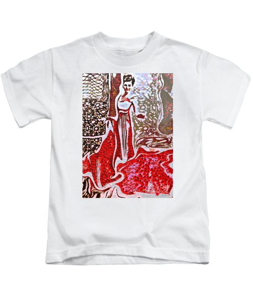 Liquid Red Kids T-Shirt