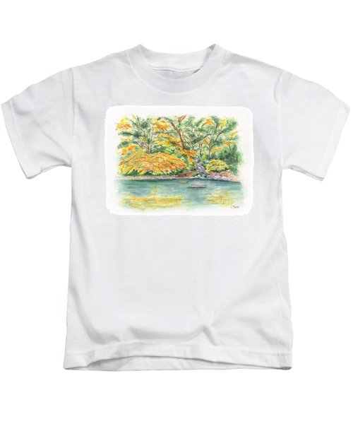 Lithia Park Reflections Kids T-Shirt