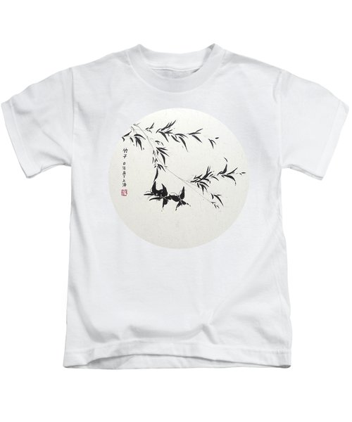 Little Dance - Round Kids T-Shirt