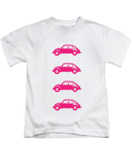 Little Pink Beetles Kids T-Shirt