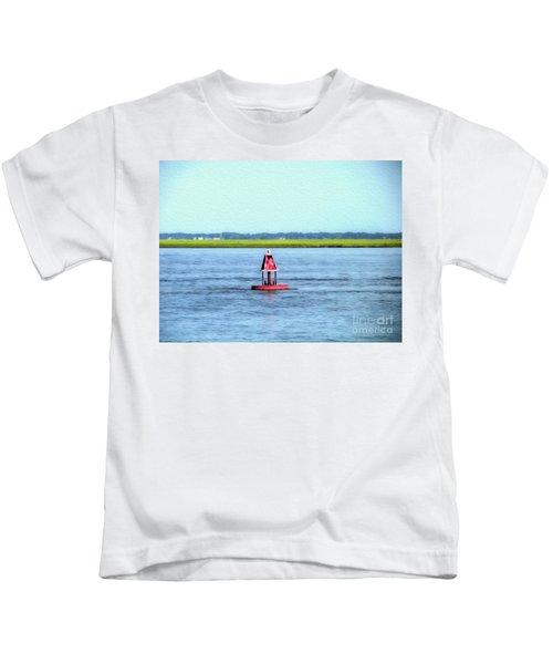 Little Red Buoy  Kids T-Shirt