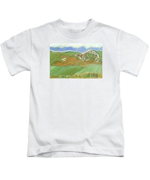 North Of The Coast Road Kids T-Shirt