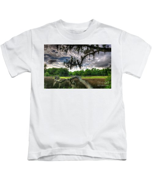 Live Oak Marsh View Kids T-Shirt