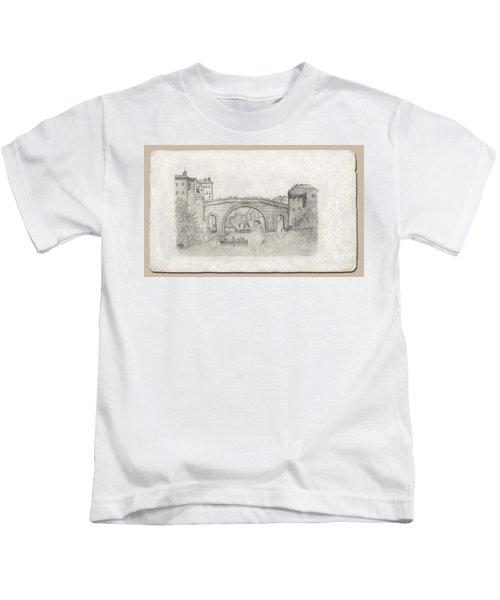 Liverpool Bridge Kids T-Shirt
