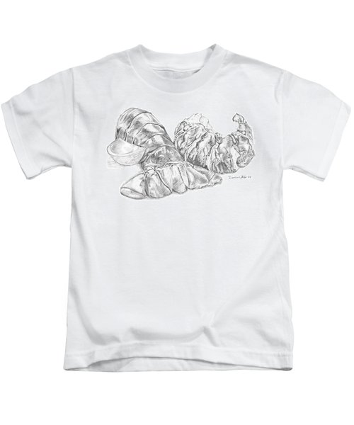 Lobster Shell Drawing Kids T-Shirt