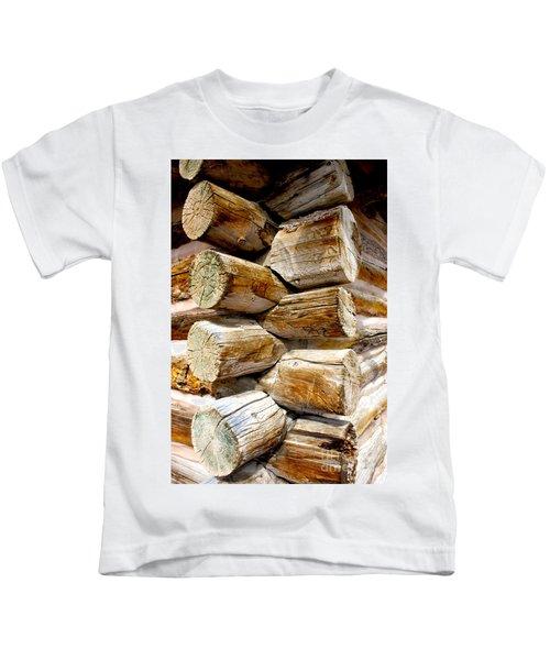 Log Cabin Corner Kids T-Shirt