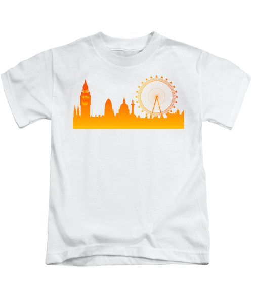 London City Skyline Kids T-Shirt