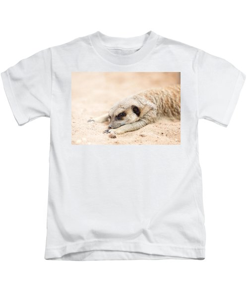 Long Day In Meerkat Village Kids T-Shirt