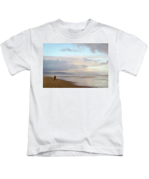 Long Day Surfing Kids T-Shirt