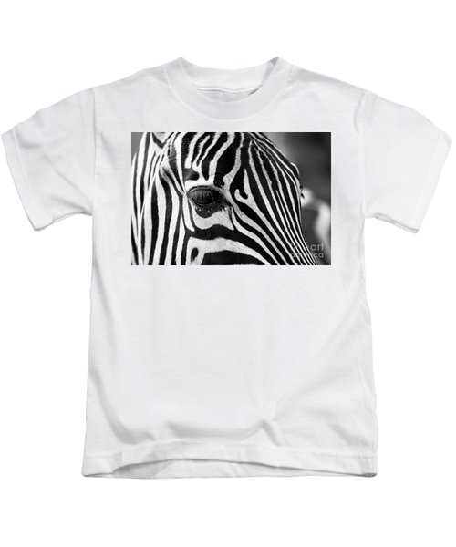 Long Eyelashes Kids T-Shirt