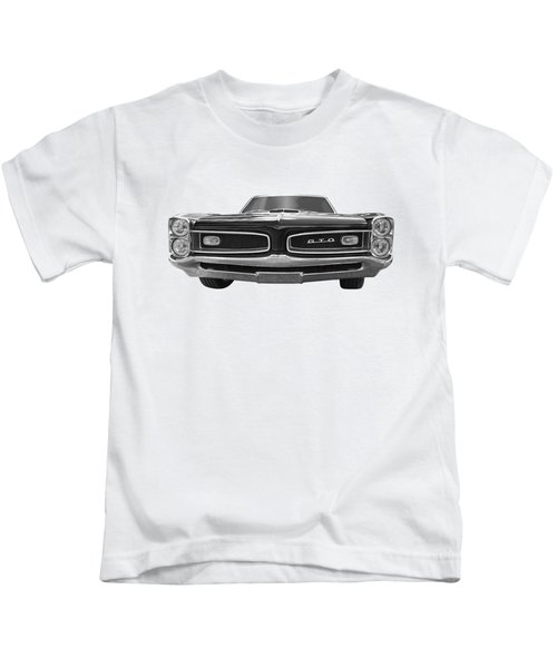 Look At Me - Gto Black And White Kids T-Shirt