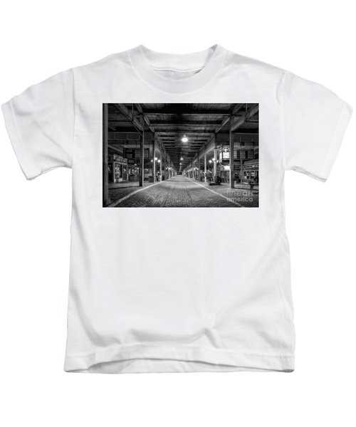 Looking Down The Tracks Kids T-Shirt