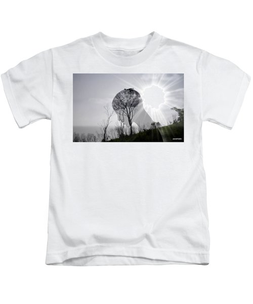 Lost Connection With Nature Kids T-Shirt