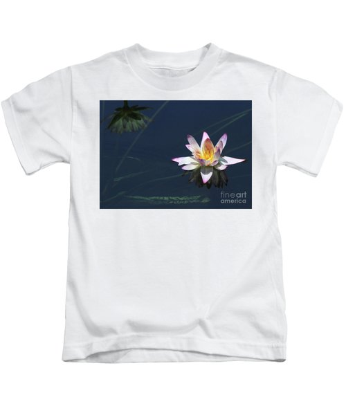 Lotus And Reflection Kids T-Shirt