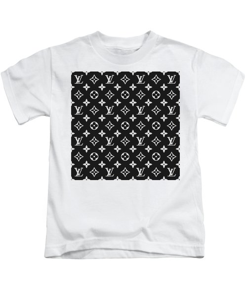 6398ee44715a Louis Vuitton Pattern - Lv Pattern 06 - Fashion And Lifestyle Kids T-Shirt