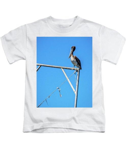 Louisiana's State Bird Kids T-Shirt