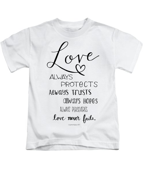 Love Always Kids T-Shirt