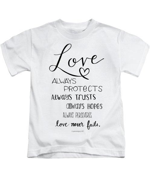 Love Always Kids T-Shirt