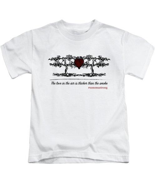 Love In The Air Kids T-Shirt