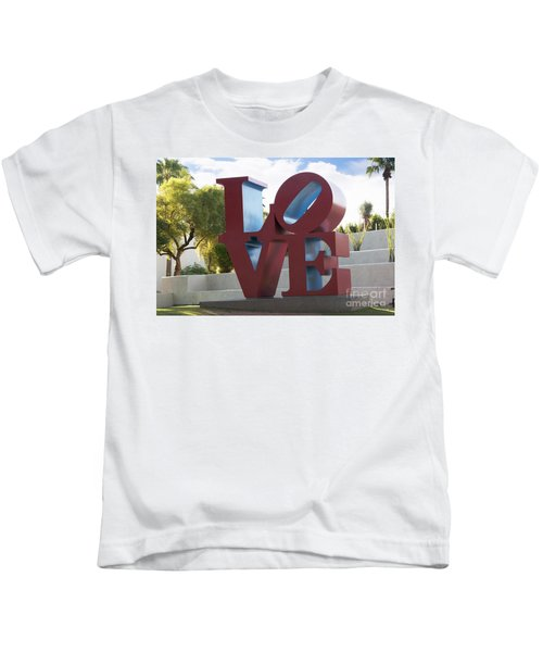 Love In The Park Kids T-Shirt
