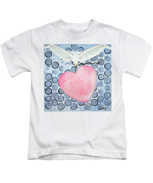The Blessing Of The Dove Kids T-Shirt