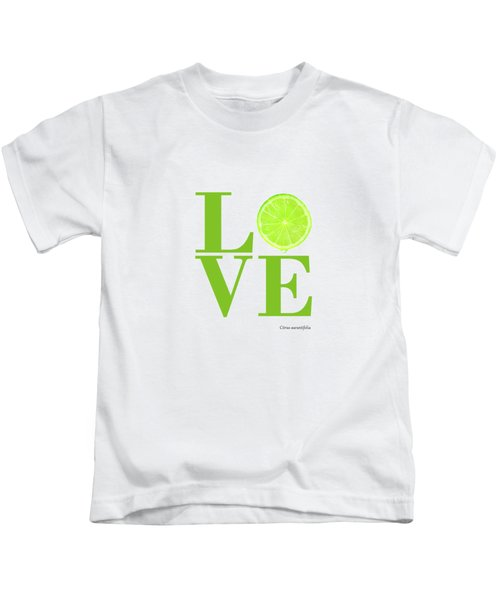 Love Lime Kids T-Shirt