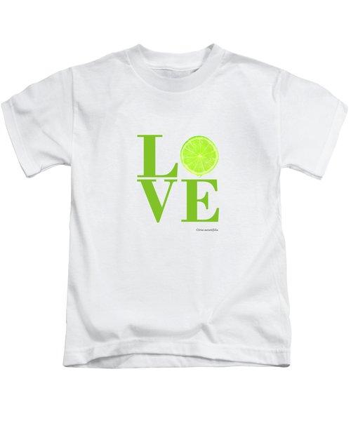 Love Lime Kids T-Shirt