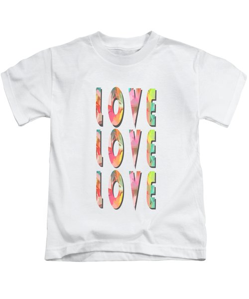 Love Love Love Phone Case Kids T-Shirt