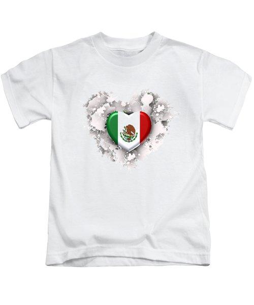 Love Mexico.1 Kids T-Shirt