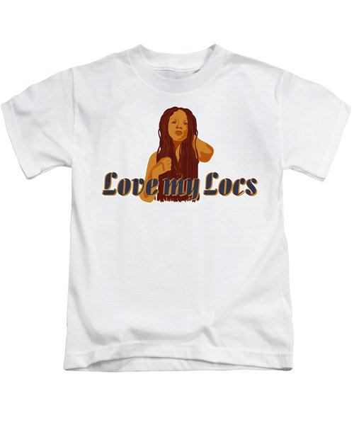 Love My Locs Kids T-Shirt