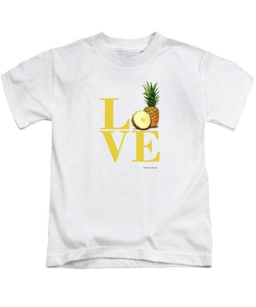 Love Pineapple Kids T-Shirt