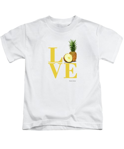 Love Pineapple Kids T-Shirt