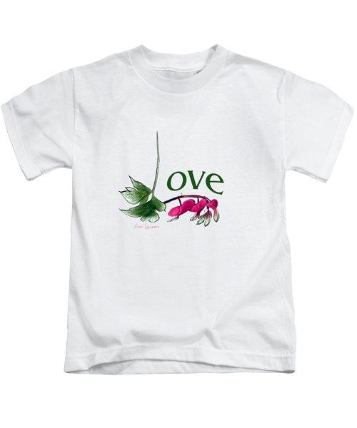Love Shirt Kids T-Shirt