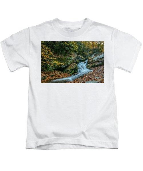 Lower Upper Creek Falls Kids T-Shirt