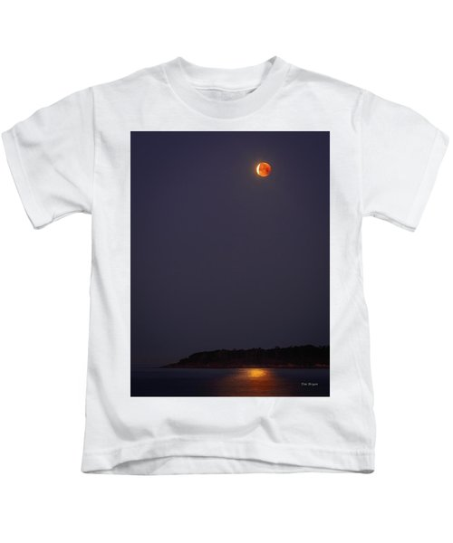 Lunar Eclipse - January 2018 Kids T-Shirt