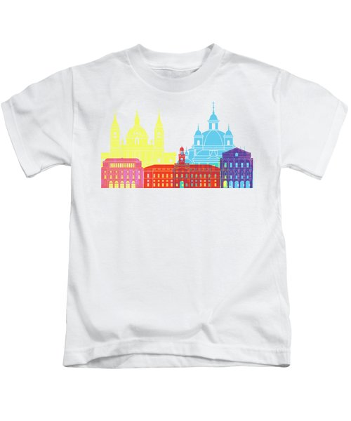 Madrid V2 Skyline Pop Kids T-Shirt