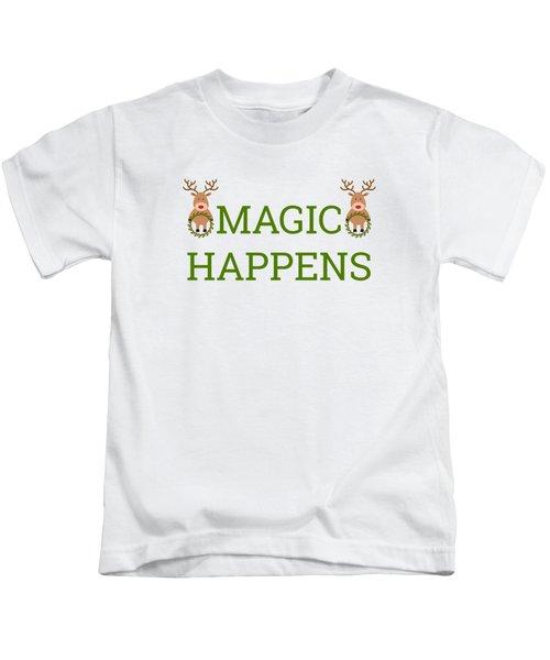 Magic Happens Kids T-Shirt