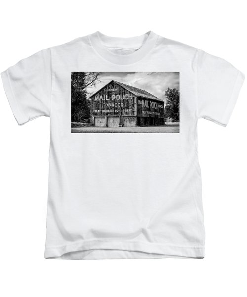 Mail Pouch Barn - Us 30 #1 Kids T-Shirt