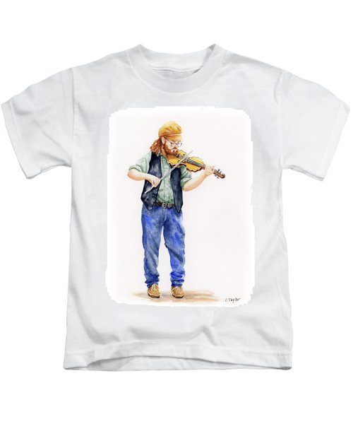 Main Street Minstrel 1 Kids T-Shirt
