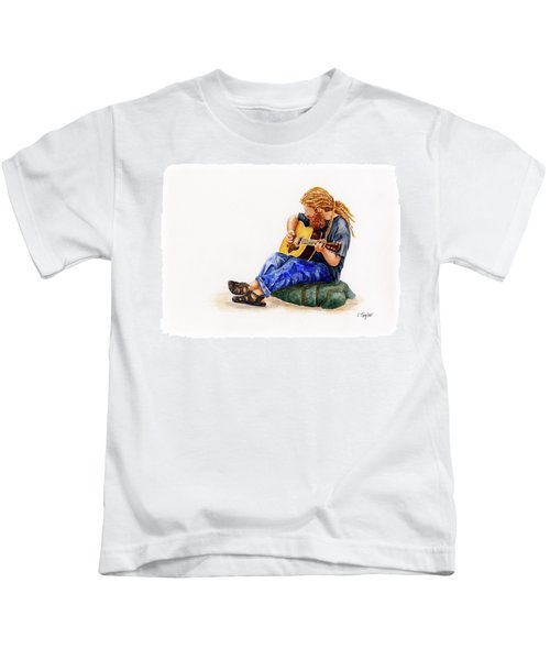 Main Street Minstrel 2 Kids T-Shirt