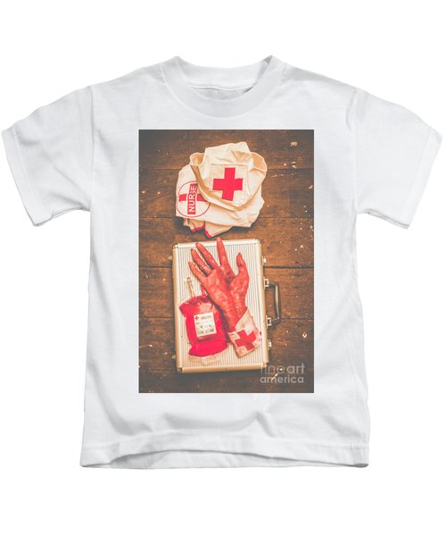 Make Your Own Frankenstein Medical Kit  Kids T-Shirt