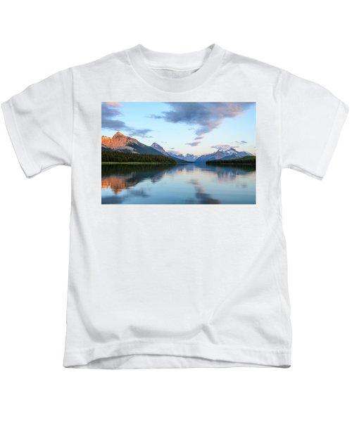 Maligne Lake Kids T-Shirt