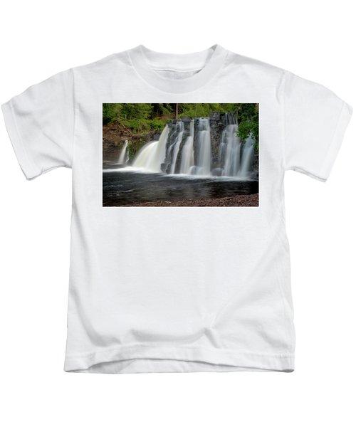 Manabezho Falls Kids T-Shirt