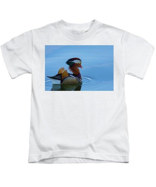 Majestic Mandarin Duck Kids T-Shirt