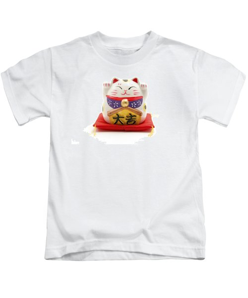 Maneki Neko Kids T-Shirt