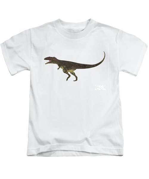 Mapusaurus Side Profile Kids T-Shirt