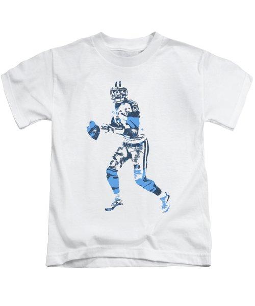 Marcus Mariota Tennessee Titans Pixel Art T Shirt 1 Kids T-Shirt