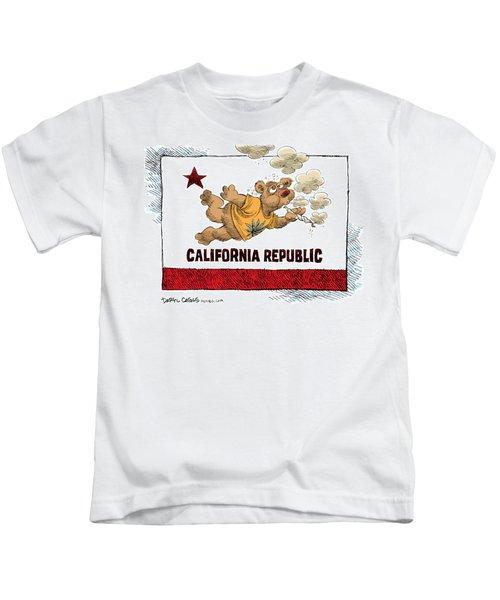 Marijuana Referendum In California Kids T-Shirt