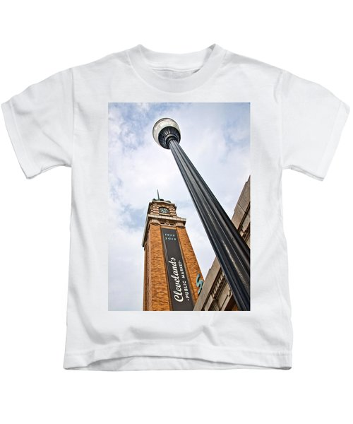 Market Clock Tower Kids T-Shirt
